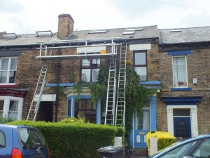 Lazenby's ladder scaffold system